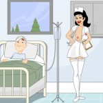 Развратная медсестра
