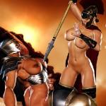 300 амазонок — Королева Спарты